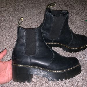 Rometty Platform Chelsea Boots (Dr. Martens)